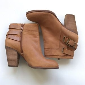 Gianni Bini Camel Ankle Boots